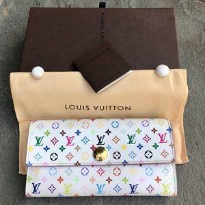 💯 LV Sarah Multicolor Wallet *W/DUSTBAG & BOX* 💗